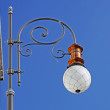 Stock Photo: Streetlamp indedr sky taken in Triest, Italy