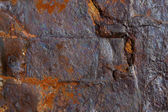 Rough iron ore texture — Stock Photo