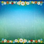 Abstrakt våren floral bakgrund — Stockvektor