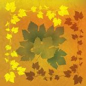 Abstract grunge orange background — Stock Vector