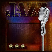 Antecedentes del jazz — Vector de stock