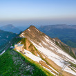 Stock Photo: Sunrise from Brienzer Rothorn