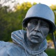 Korean war veterans memorial — Stock Photo