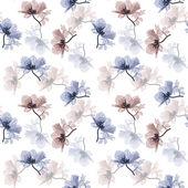 复古花卉背景 — 图库矢量图片