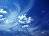 Blue sky. — Stock Photo