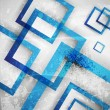 Stock vektor: Blue abstract background