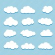 Clouds collection — Stock Vector #11051275