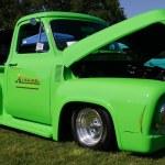 Green truck — Stock Photo #11564224