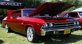 69 Chevy Chevelle SS — Stock Photo