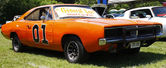 Coche doble general lee — Foto de Stock