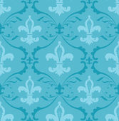 Fleur de lis wallpaper — Stock Vector