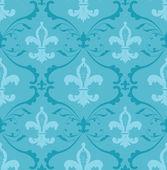 Fleur de lis wallpaper — Stock Vector