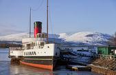Loch Lomond Paddle Steamer — Stock Photo
