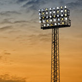 Sports Arena Floodlight — Stock Photo