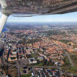 Royalty-Free Stock Photo: Aerial view of Helsingborg