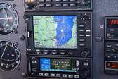 Vliegtuig cockpit — Stockfoto