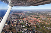 Aerial view of Helsingborg — Stock Photo