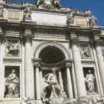 Fountain Di Trevi - Rome — Stock Photo