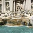 Fountain Di Trevi view - Stock Photo