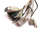 Cable bunch — Stock Photo