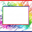 Royalty-Free Stock Photo: Colorful summer frame
