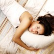 Relaxing on the Bed — Stock Photo #10781011