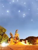 San Martin under the Stars — Stock Photo