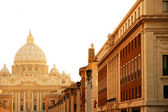 Evening view on the Vatican in Rome — Stock Photo