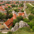Stock Photo: View over Veszprem