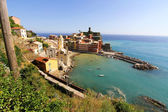 View on Vernazza in Cinque Terre — Stock Photo