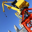 Crane in Puerto Madero — Stock Photo
