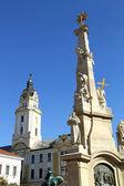 Mijlpaal in pecs, hongarije — Stockfoto