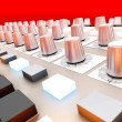 Stock Photo: Mixing board