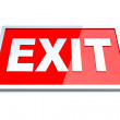 Exit Sign — Stock Photo #12249383