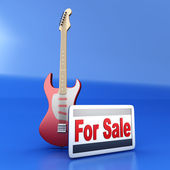Guitare à vendre — Photo
