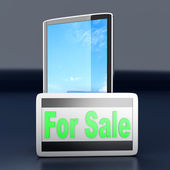 Smartphone for Sale — Stock Photo