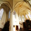 Interior of the Marienkirche in Berlin, Germany - Stock Photo