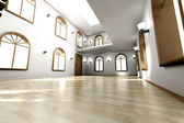 Interior do loft — Fotografia Stock