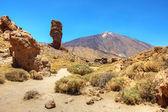 円錐火山テイデ山やエル テイデ — ストック写真