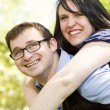 Young Couple Having Fun in the Park — Stock Photo #11135152