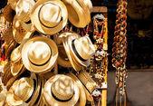 Touristic street market selling souvenirs in Cuba — Stock Photo