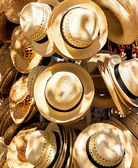 Hats for sale in a cuban street market — Stock Photo
