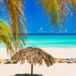 The beautiful Varadero beach in Cuba — Stock Photo