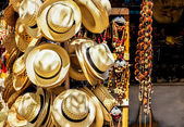 Touristic market selling souvenirs in Cuba — Foto Stock