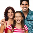 Royalty-Free Stock Photo: Portrait of a happy hispanic family