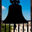 Silohuette of bell with view of Havana — Stock Photo #11622445