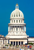 View of Havana including the dome of the Capitol — Stock Photo