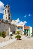 San Francisco Square in Old Havana — Stock Photo