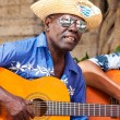 Man playing traditional music in Old Havana — Stock Photo
