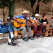 Band playing traditional music in Old Havana — Stock Photo #11836867